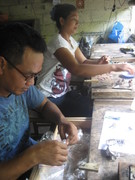silver workshop Bali