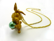 necklace rabbit  45