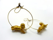 baby earrings  45 eu
