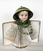 doll with green hat